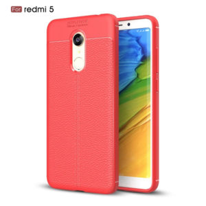 Xiaomi-Redmi-5-Autofocus-Leather-Back-Cover-black