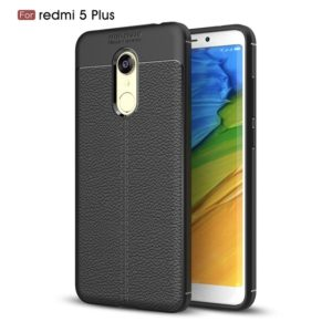 Xiaomi Redmi 5 plus Autofocus Leather Back Cover